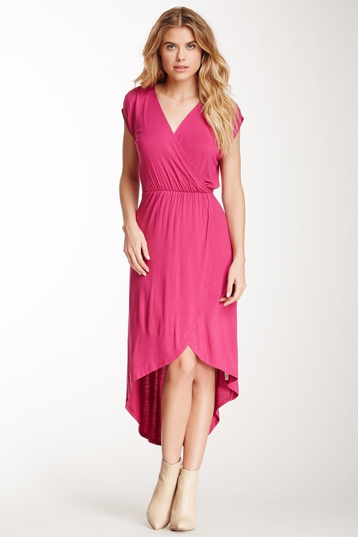 Hi-Lo Wrap Dress | Dress | Pinterest