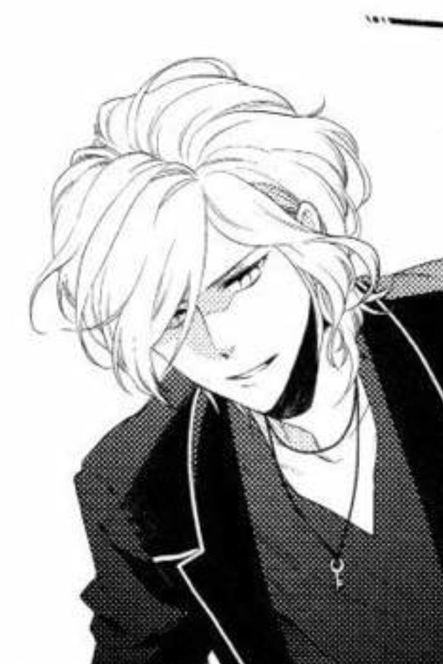 anime anime boy bishounen diabolik lovers manga monochrome sakamaki ...