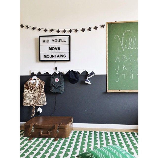 Green In Kids Rooms