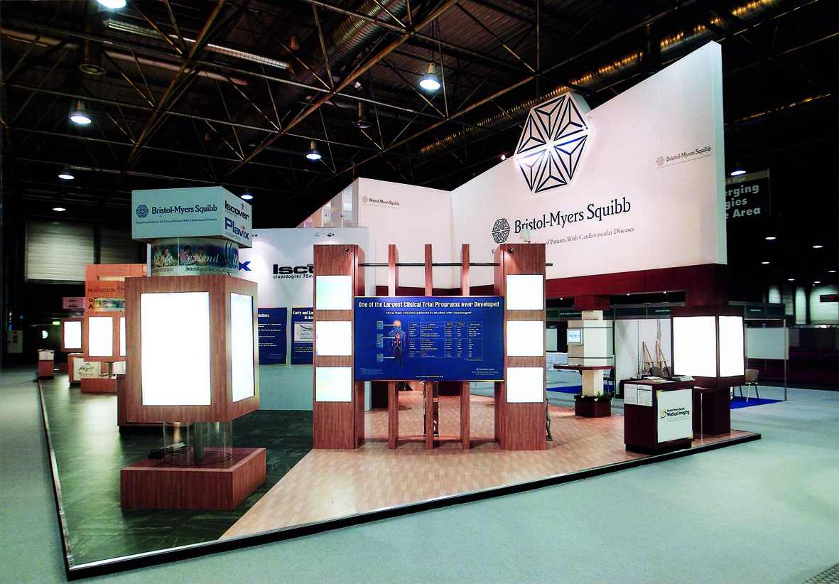 Exhibition Displays Bristol : Bristol myers squibb design stand exhibit booths
