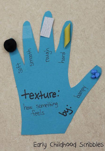 Sense Of Touch Texture Hand Senses Preschool Five