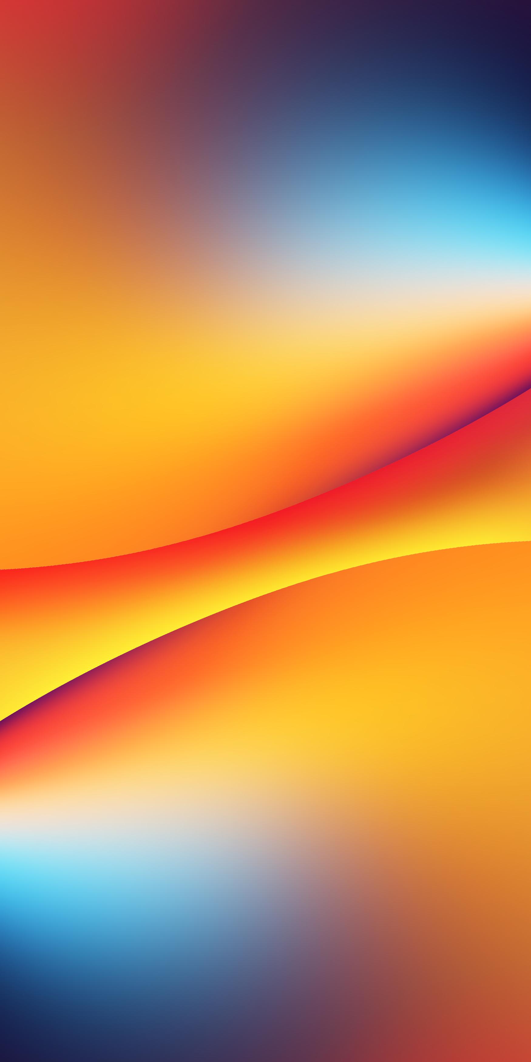 Orange Blue Colorful Nebula Illustration Nebula Wallpaper Nebula Outer Space Wallpaper