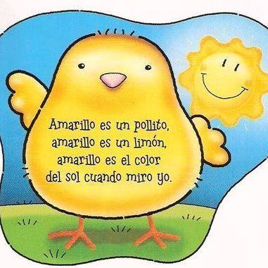 Poesia Color Amarillo Poemas Cortos Para Ninos Poesia Para Ninos Letras De Canciones Infantiles