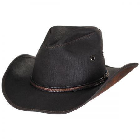 1e2b9fbe38e Head  N Home Stockade Waxed Cotton Western Hat