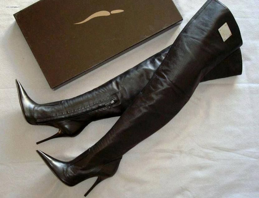 Icone Pointy Overknees Shoe Fetish Thigh Boots In 2019