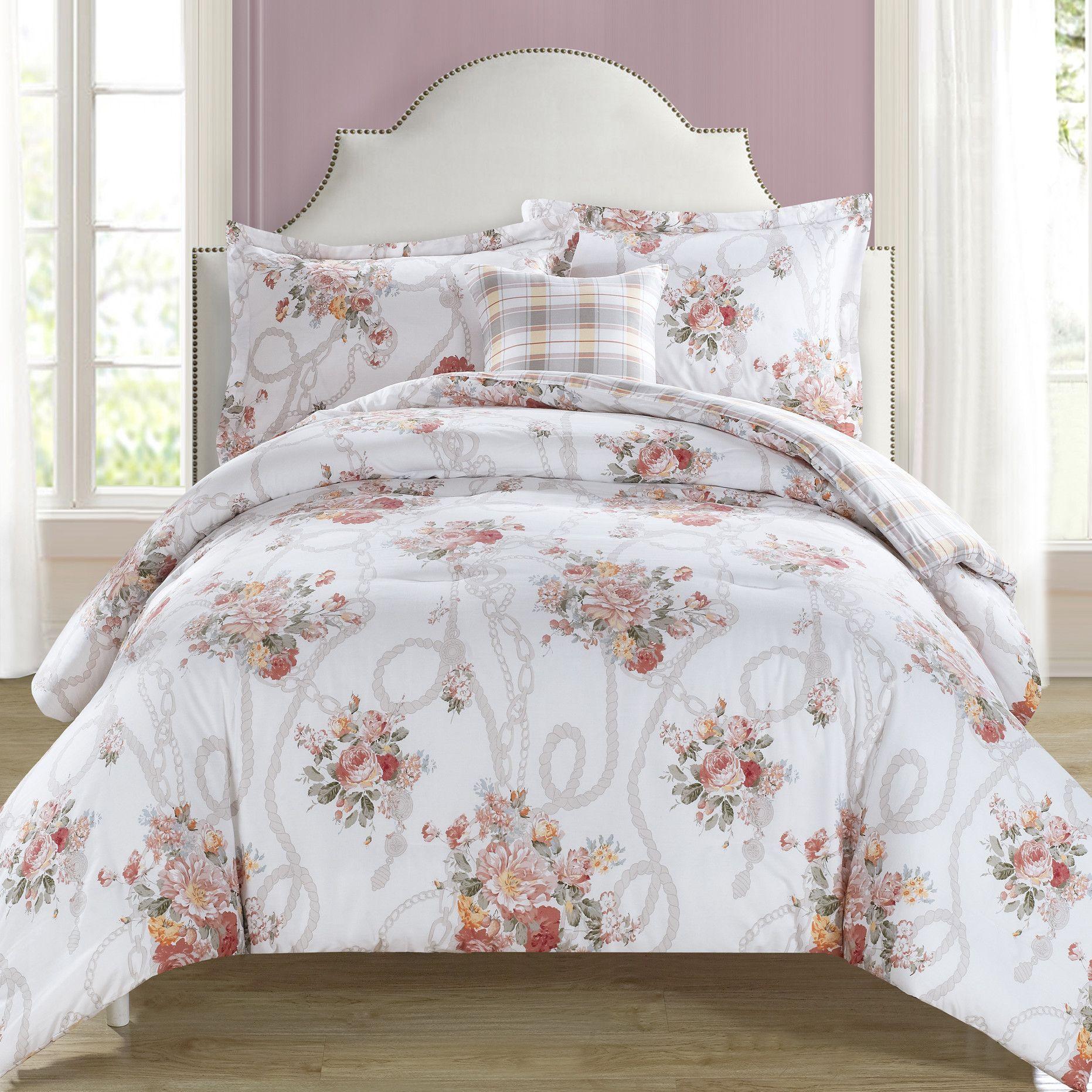 Sheridan 4 Piece Reversible Comforter Set - Products - Pinterest