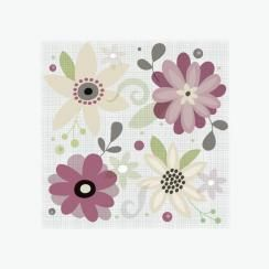 Floral Quad by Danielle Hartgers