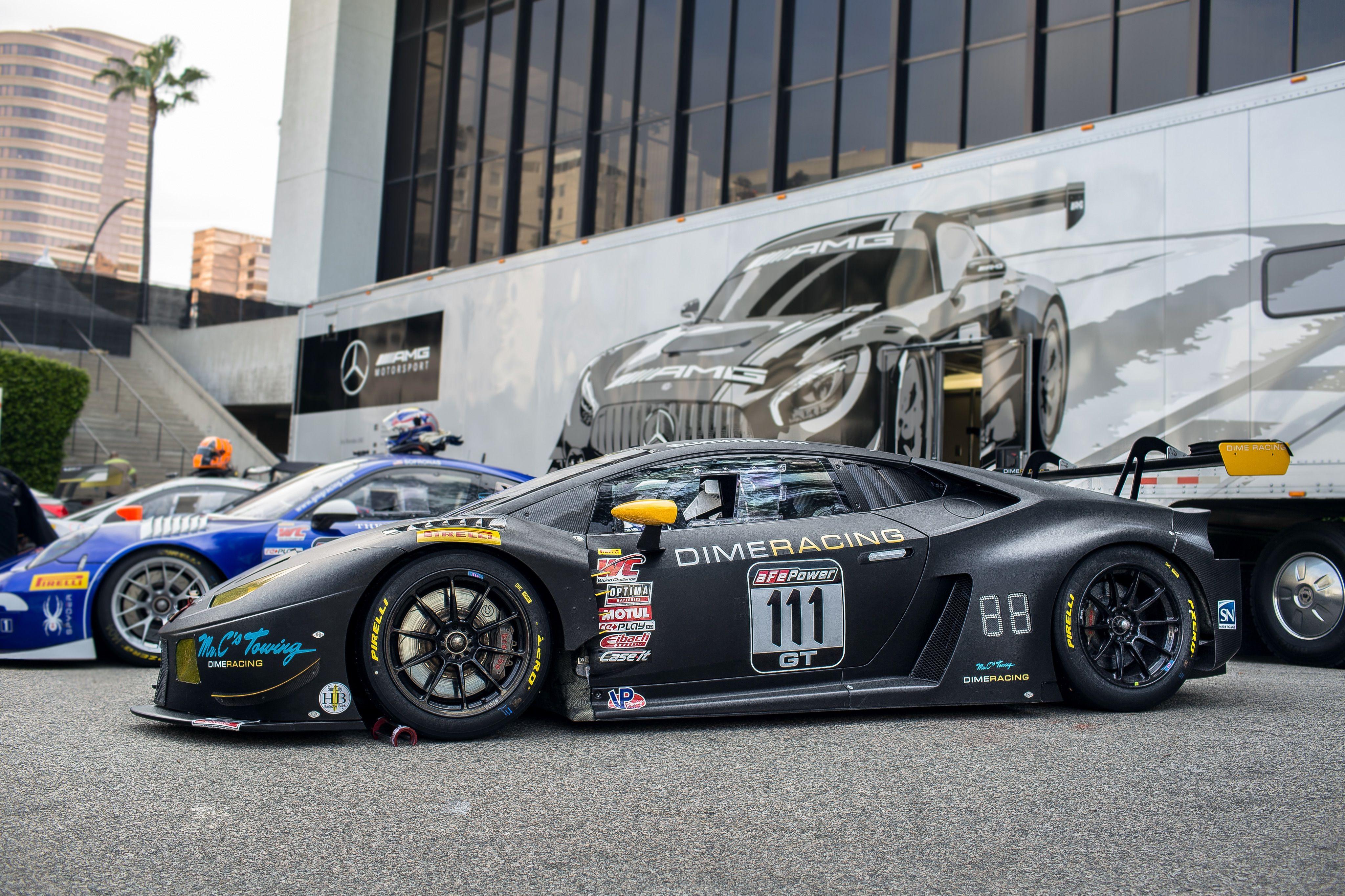 Lamborghini Huracan Gt3 Race Car From Dime Racing Www Dimeracing Com