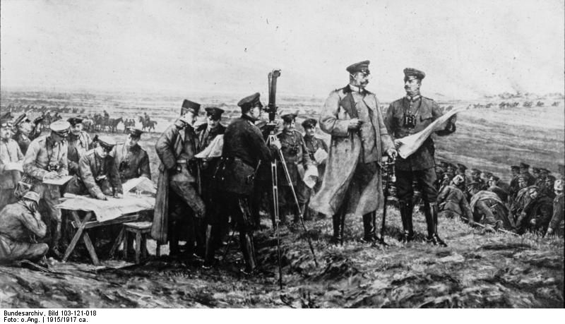 The Battle of Tannenberg was fought between Russia and Germany in ...