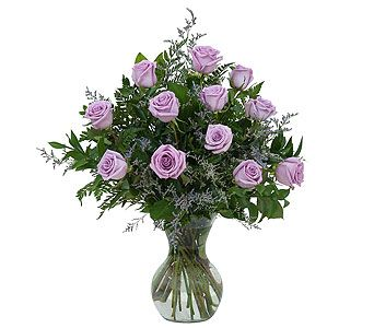 TMF-598 Luscious lavender roses for your sweetie! Order early from Berthold's Flowers, Elk Grove Village IL or nationwide. http://www.bertholdsflowers.com/elk-grove-village-flowers/lovely-lavender-roses-667579p.asp?rcid=388448&point=1