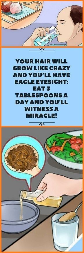 YOUR HAIR WILL GROW CRAZY AND YOU HAVE EAGLE EYESIGHT: EAT 3 TABLESPOONS A DAY AND YOU WILL BE A MIR...