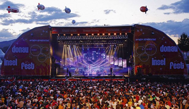 Experience The City of Music at the Danube Island Festival