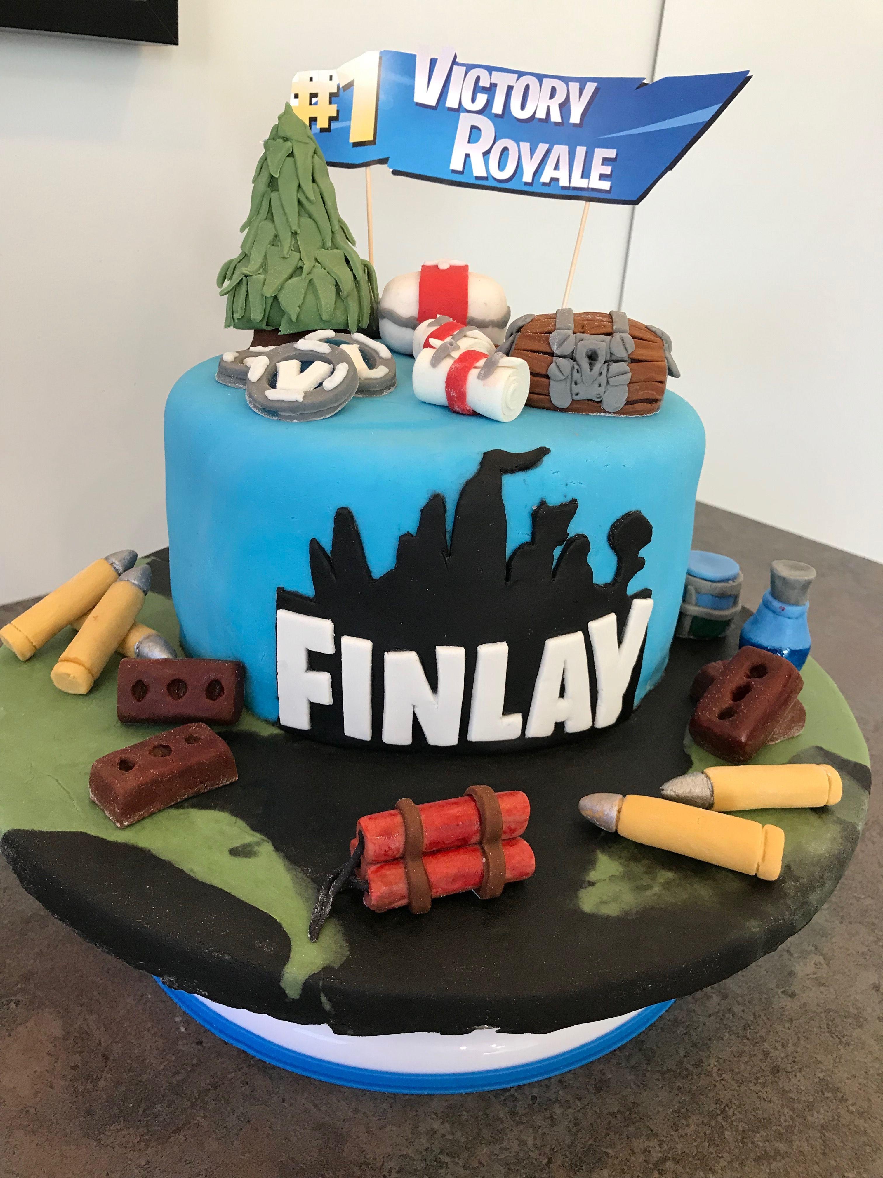 Fortnite birthday cake birthday cake cake birthday