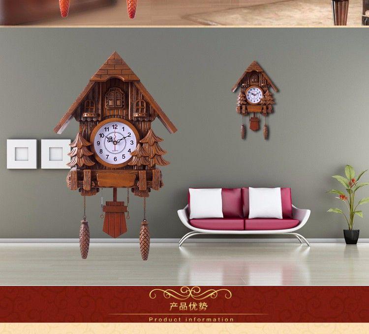 bce74ba0c48 Stylish Cuckoo Wall Clock Online Shopping