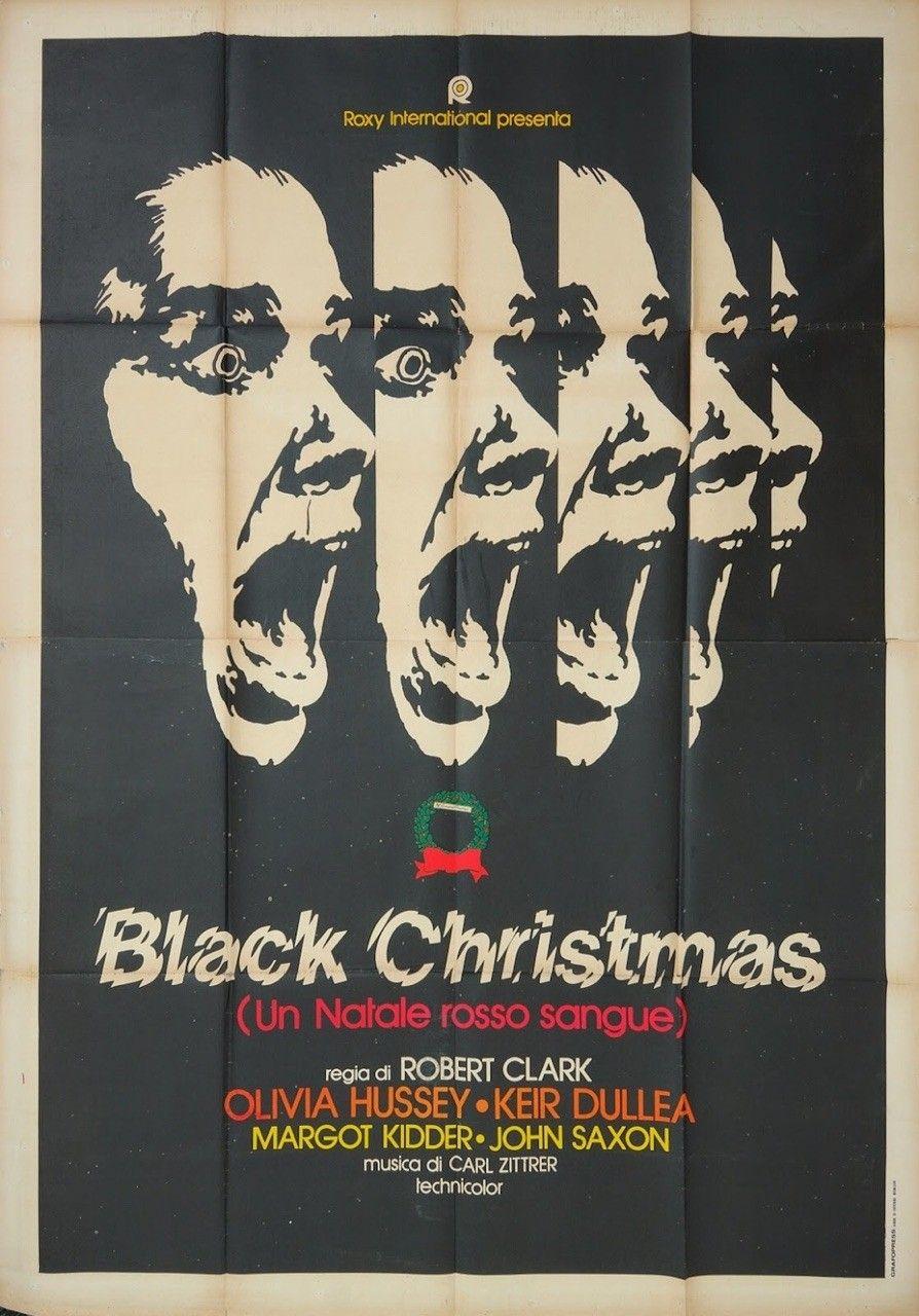Black Christmas 1974.Black Christmas 1974 Italy Music Movie Posters Gig