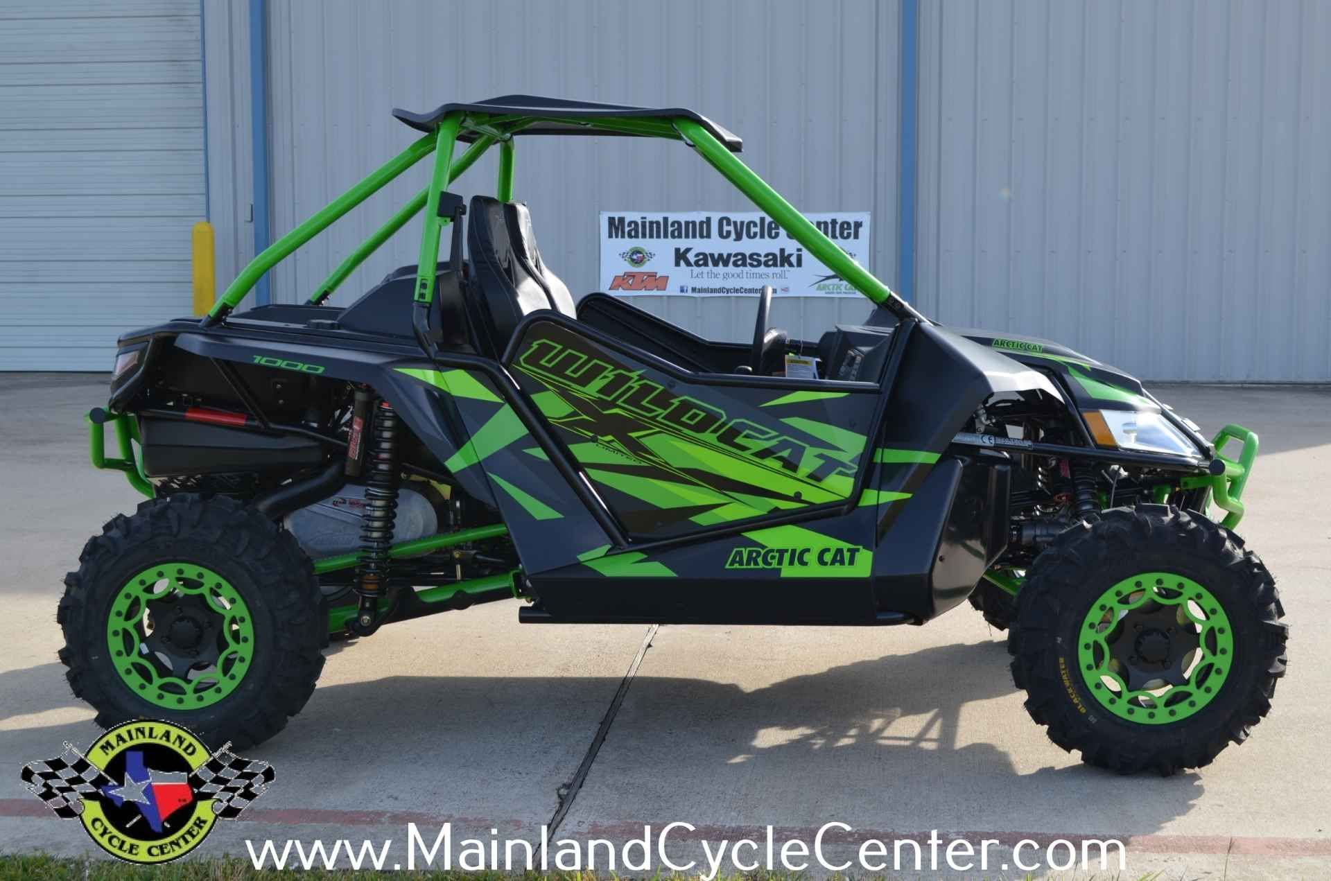"""New 2016 Arctic Cat Wildcatâ""""¢ X Limited ATVs For Sale in"""