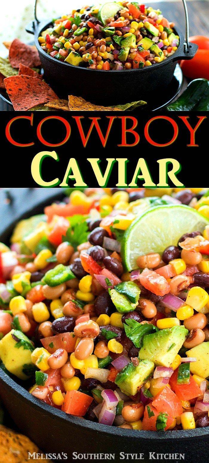 Cowboy Caviar - melissassouthernstylekitchen.com
