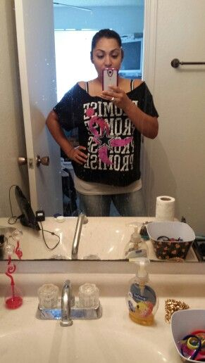 Diy XL mens tshirt to girls mid drift