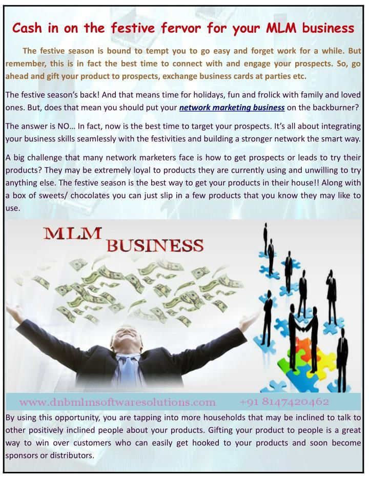 Cash in on the festive fervor for your mlm business business and cards colourmoves