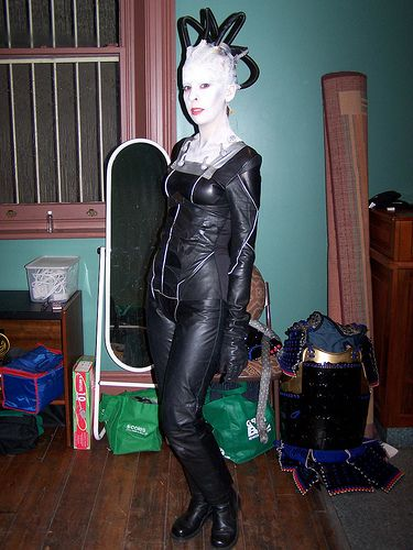 borg queen costume by mandymaria via flickr - Borg Halloween Costume