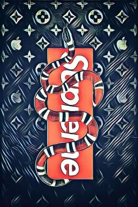 Free Download Wallpaper Iphone Xs Xr Xs Max Supreme Wallpaper Lv Snake Supreme Wallpaper Supreme Iphone Wallpaper Hypebeast Wallpaper