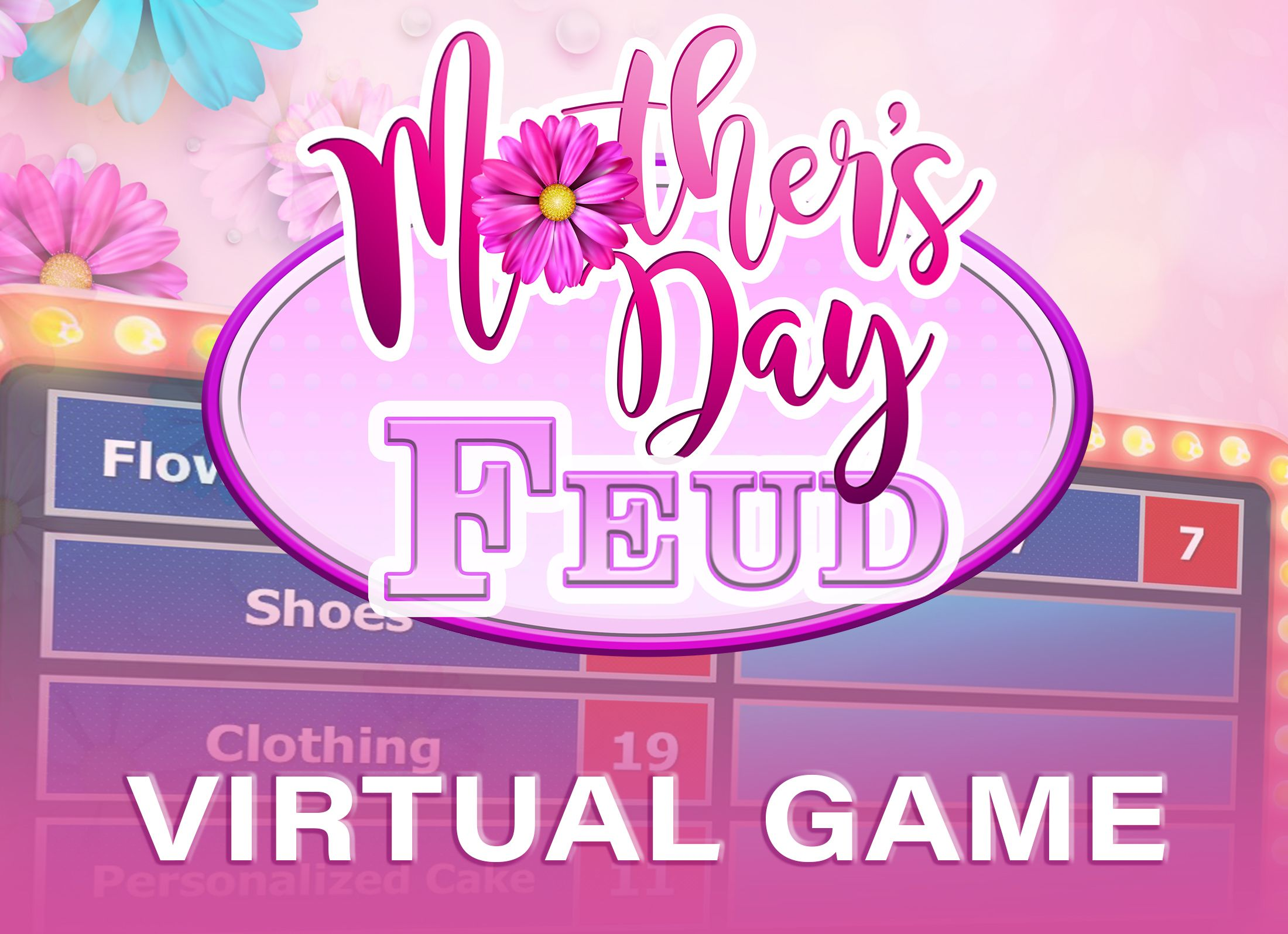 Mother's Day Virtual PowerPoint Game Night Zoom and