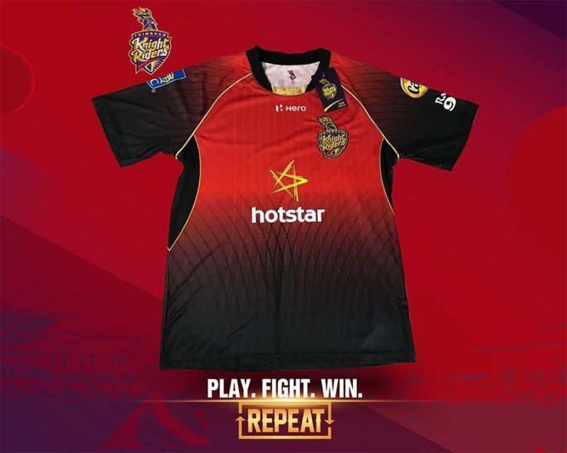 Trinbago Knight Riders 2018 Shirt Jersey Short Long Sleeves Cpl T20 ... 7cd3f0f9b