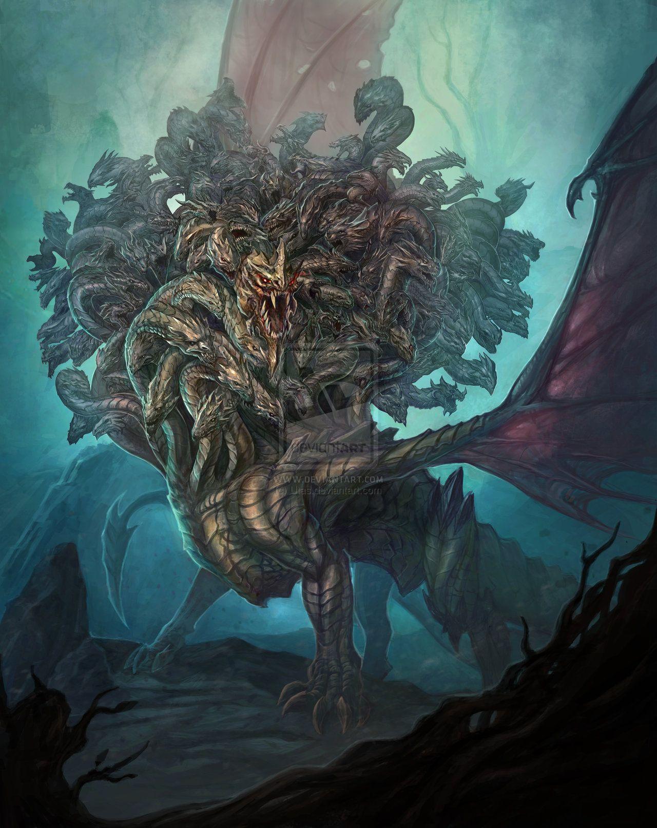 Dragon From Greek Mythology