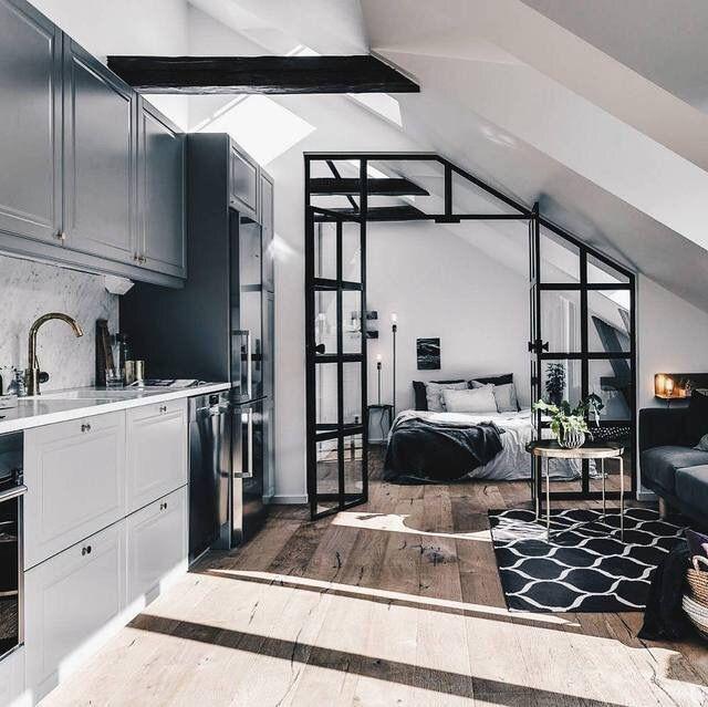 Luxury Apartment Bedroom: Interior Of A Luxury Apartment