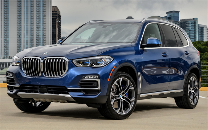 Download Wallpapers Bmw X5 2019 Blue Suv Front View New Blue X5 German Cars Bmw Besthqwallpapers Com Bmw Car Models Bmw Bmw Suv