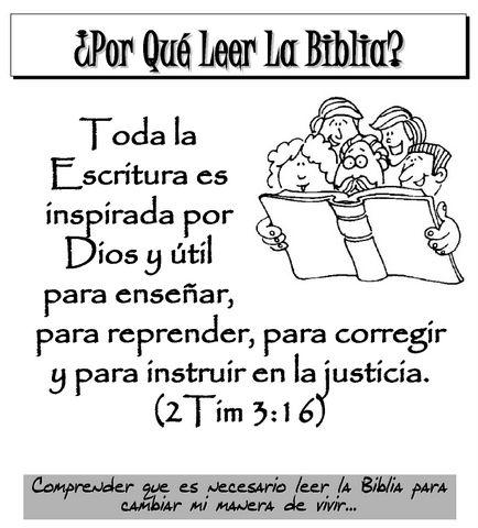 Porqueleerlabiblia Dibujos Biblicos Biblia Biblia Para