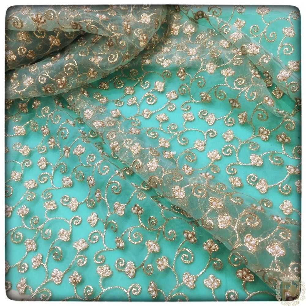 Authentic Badla Embroidery Jaal - India's Exclusive Online ...