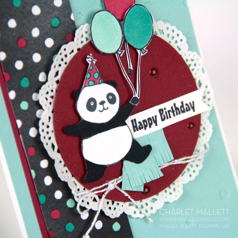 December Birthdays Blog Hop December birthday, Panda