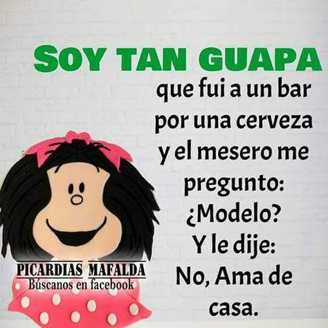 Jajaja Me Encanta Mafalda Siempre Me Hace Sonreír