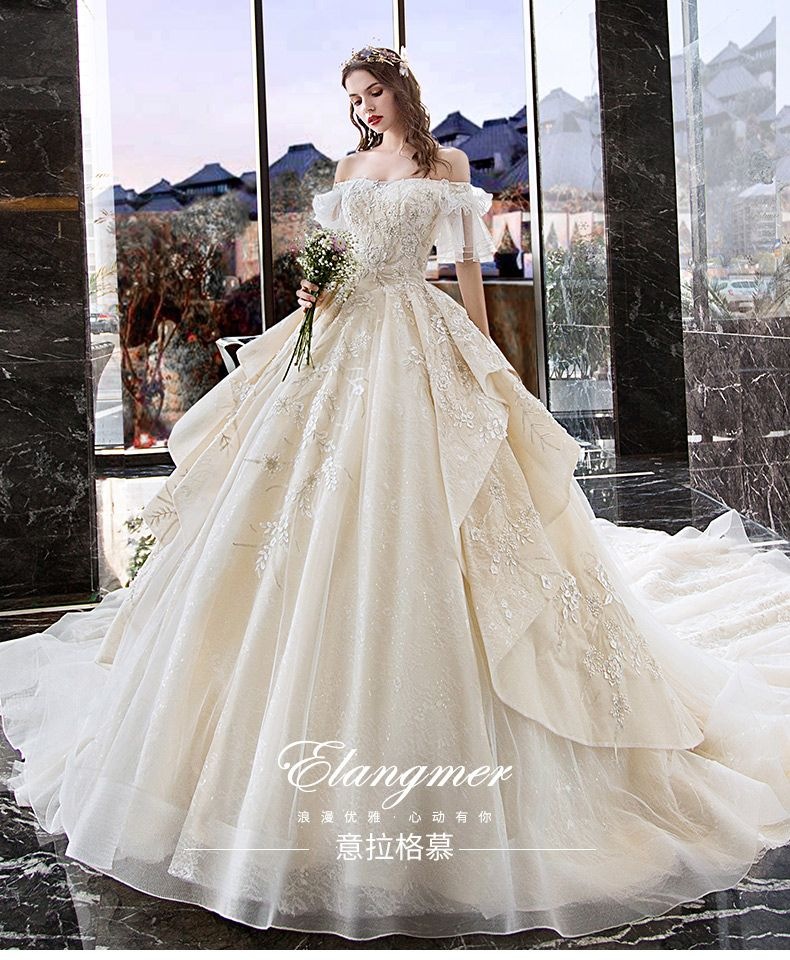 White Strapless Organza Ball Gown Wedding Dresses for 11.5 inches doll