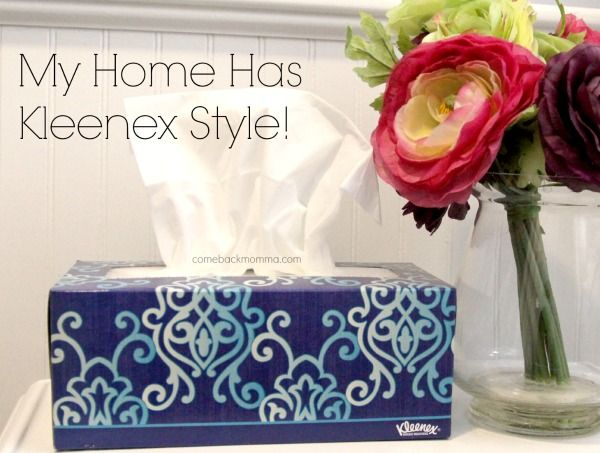My Home has #KleenexStyle. What about yours? Find your style with the Kleenex Design Studio.