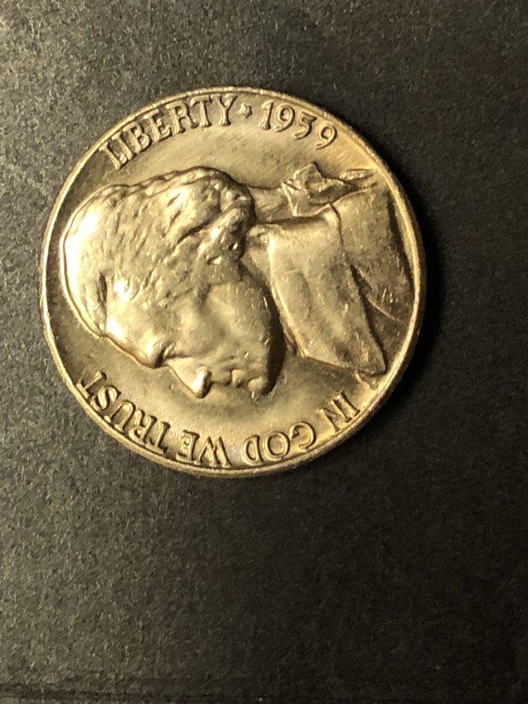 Rare !!! 1959 Jefferson Nickel (5 cents) 1959 Double Die