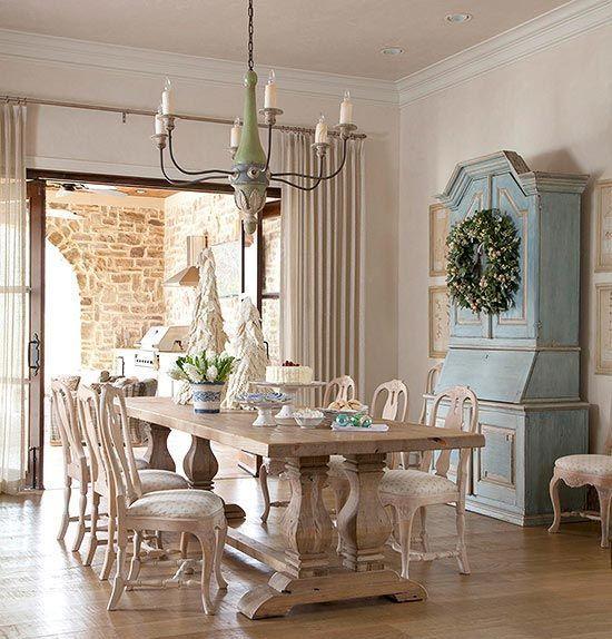 Set cod220 sedie tavoli 80x80 bar ristorante provenzale. 33 Charming And Beautiful Provence Dining Spaces Sala Da Pranzo Provenzale Arredamento Sala Da Pranzo Sala Da Pranzo Rustica
