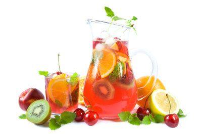 Zwei Rezepte für Fruchtbowle mit Wodka | Bowle | Pinterest on