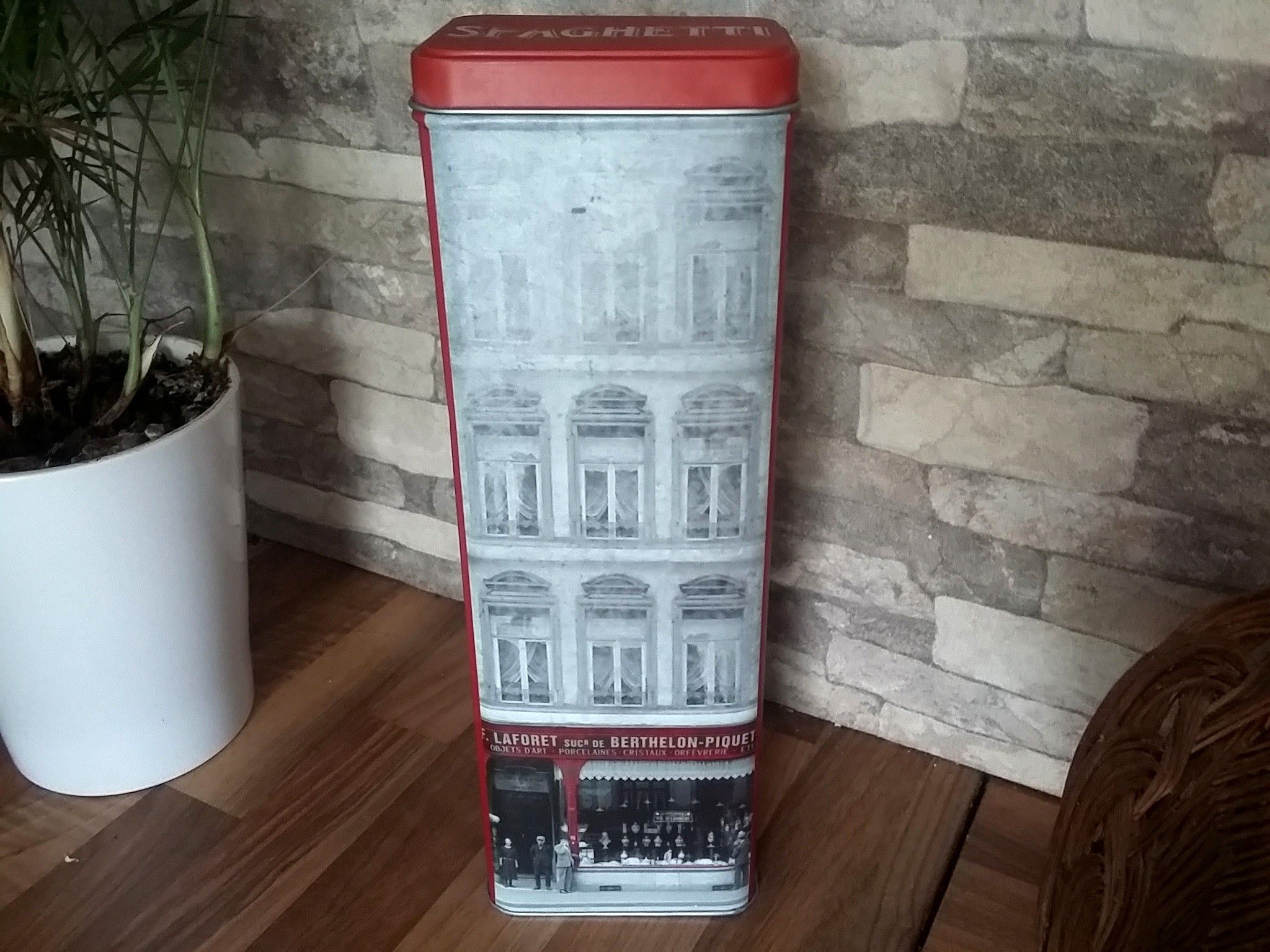 Objet Deco Retro Salle De Bain ~ boite spaghettis vintage 12 deco vintage retro boite cuisine