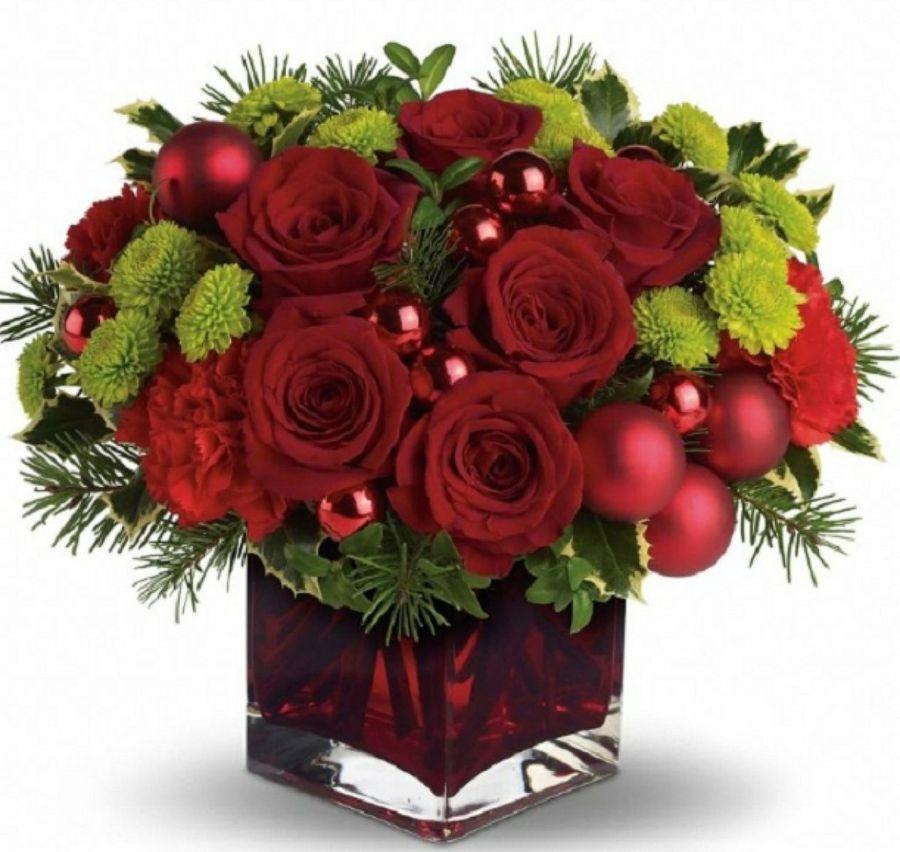 Arreglos de Navidad bonitos con plantas Arreglos, Arreglos - Arreglos Florales Bonitos