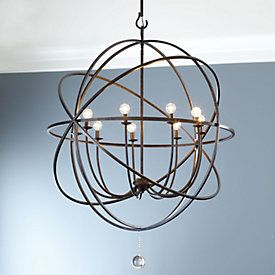 Orb chandelier large chandeliers chandeliers and master bedroom orb extra large chandelier for dining room aloadofball Image collections