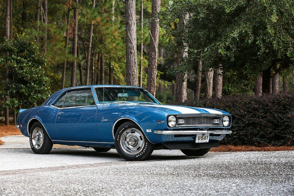 1968 Chevrolet Camaro Z/28 - With a 0-60mph time of just 5.3 seconds ...