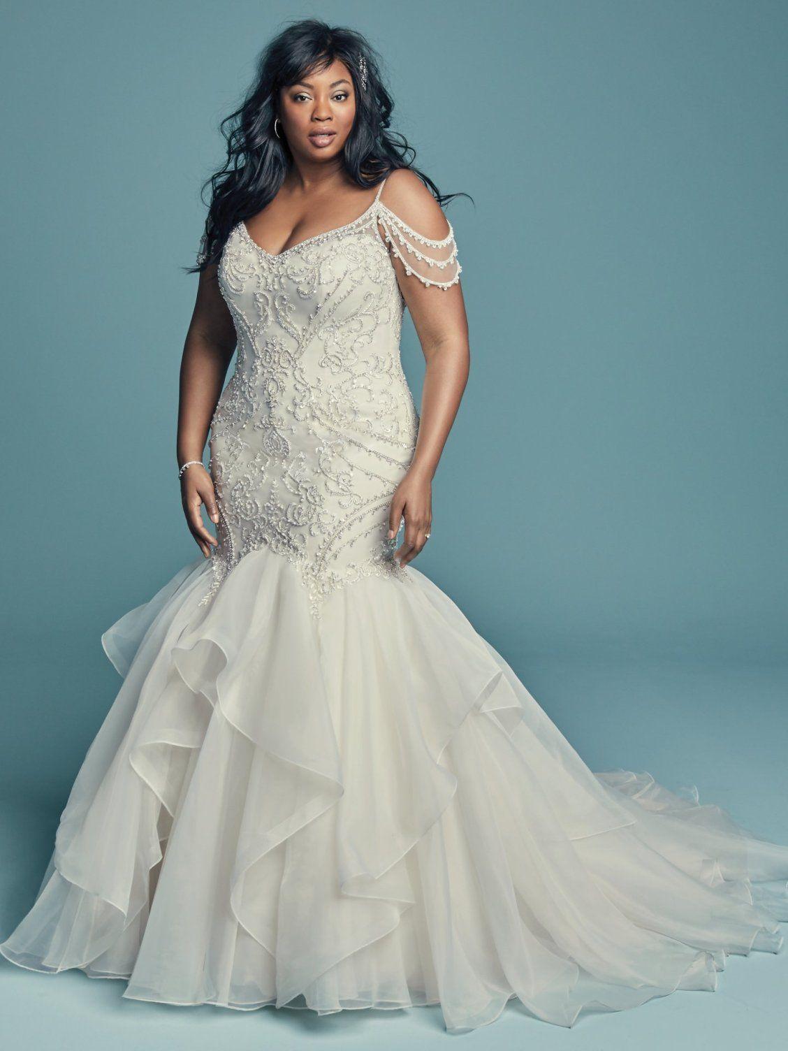 Brinkley Lynette By Maggie Sottero Wedding Dresses Lace Mermaid