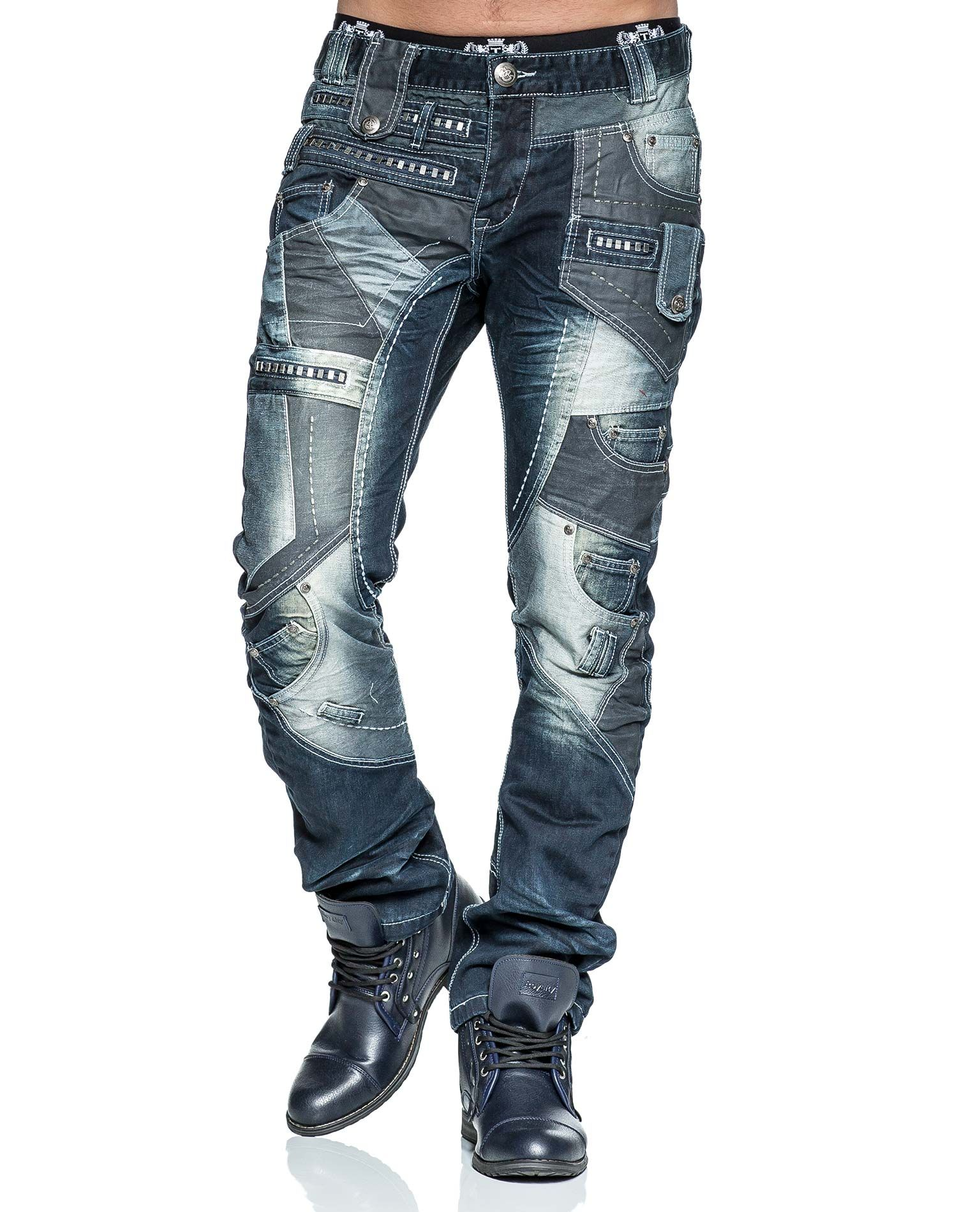 FASHION G TIME IS MONEY DENIM PEVIANI DESIGNER TAPERED COMFORT STYLE STAR JEANS