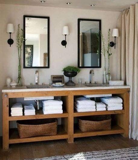 Doble Bacha Lavabos Rusticos Muebles De Bano Tipos De Banos