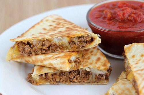 Beef Quesadillas Recipe Blogchef Net Recipes Beef Quesadillas Cooking Recipes