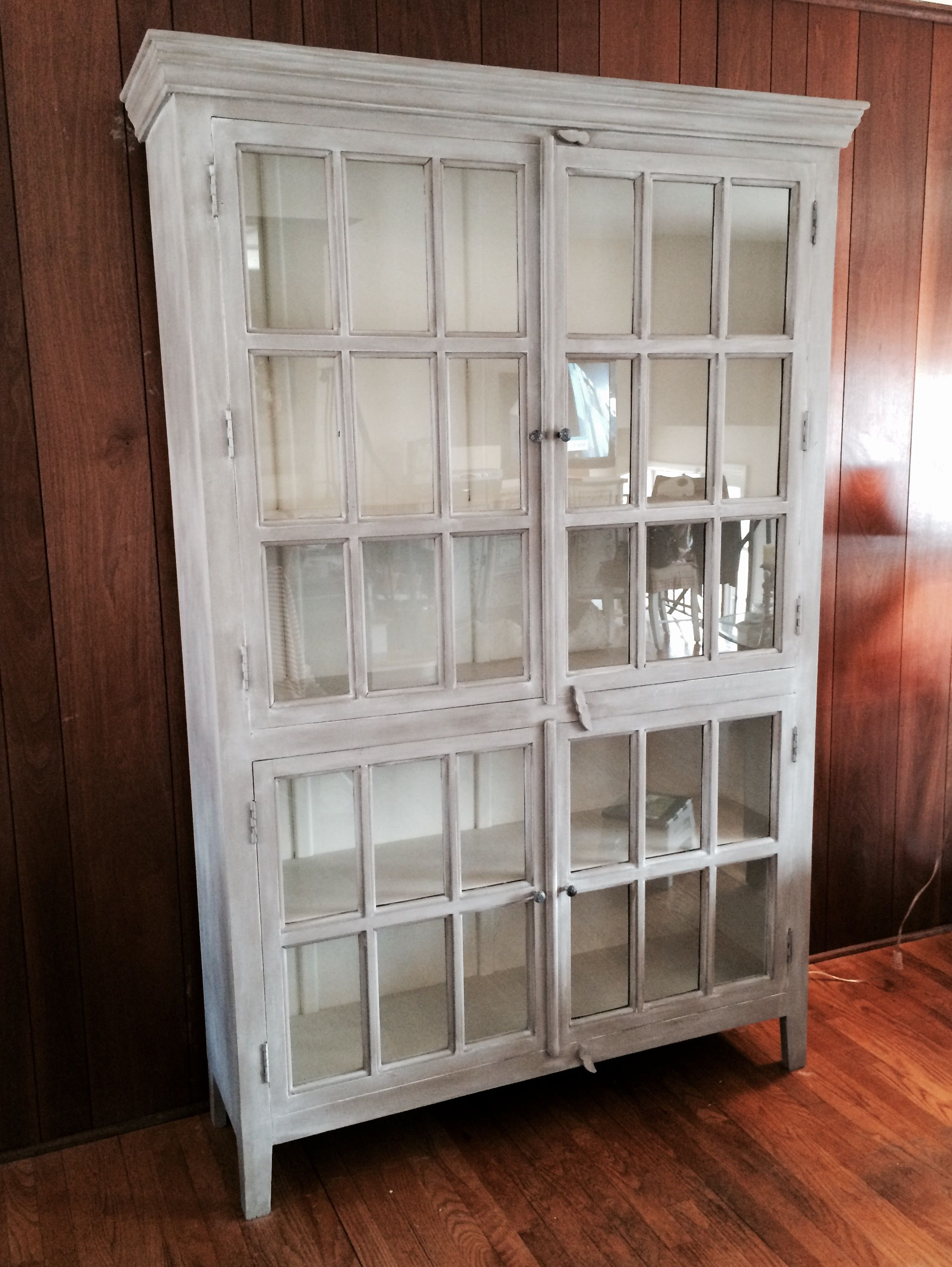 Crate and Barrel\'s Cabinet Rojo re-painted in Annie Sloan Chalk Pain ...