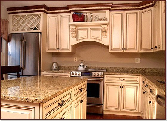 Kitchen Cabinet Reknewal Serving Baltimore Md Dc Va Pa De Nj I Can Hardly B Antique White Kitchen Custom Kitchen Remodel Antique White Kitchen Cabinets