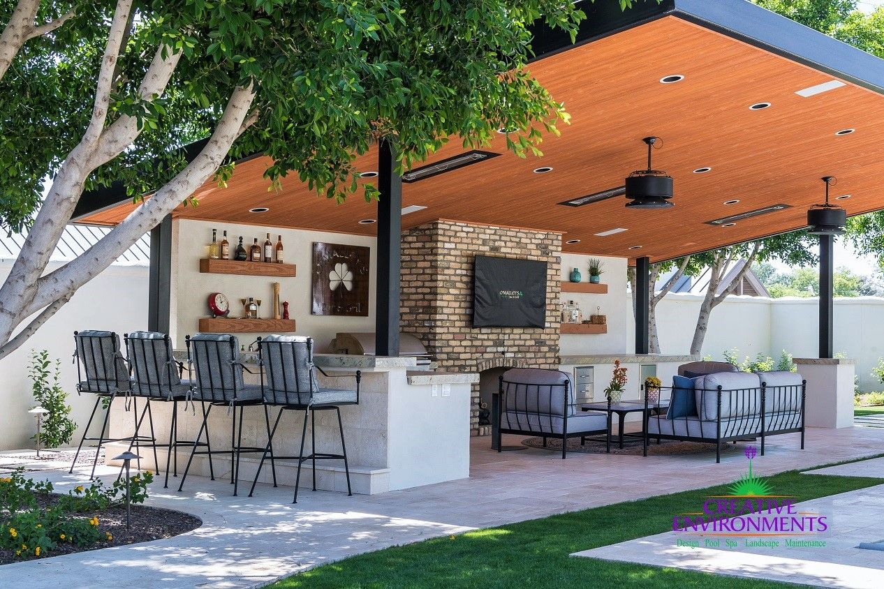 Outdoor Kitchen Inspiration Beautiful Outdoor Spaces Patio Residences